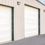 Insulated Wind Load Sectional Door 423