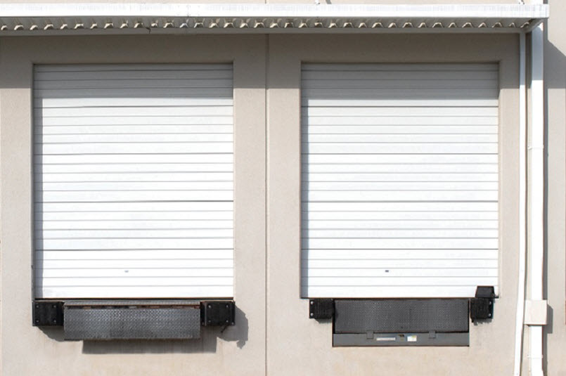 Non-Insulated Wind Load Sectional Door 427