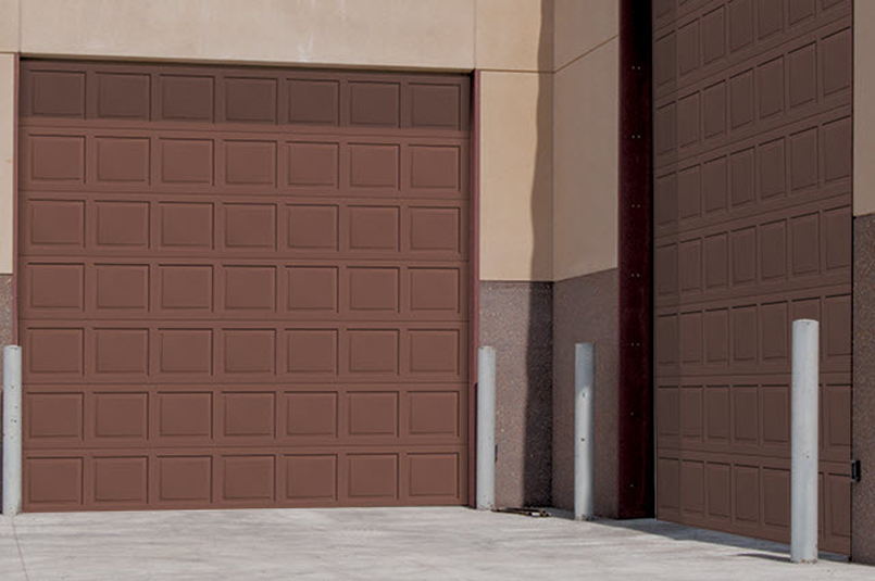 Insulated Wind Load Sectional Door 515