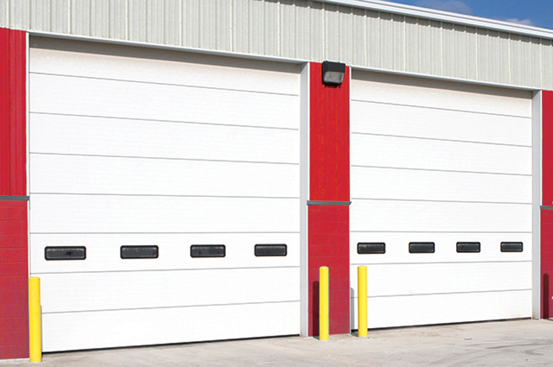 Insulated Wind Load Sectional Door 525